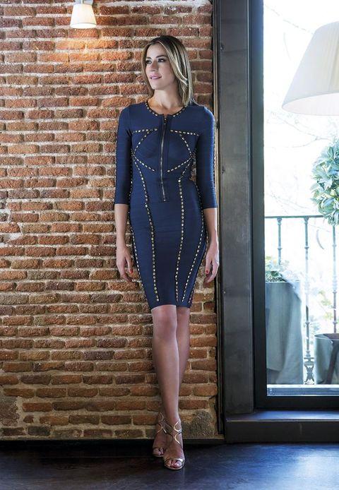 Inés Sainz, la ex miss España y ahora empresaria, posa para nuestras modelos