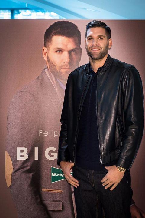 Felipe Reyes imagen de tallas grandes de El Corte Inglés