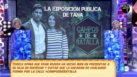 Terelu Campos y Carmen Borrego enfrentadas por Fran Rivera y Eugenia Martínez de Irujo