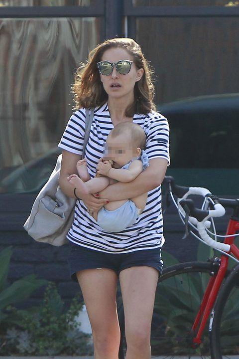 Natalie Portman seen leaving Kismet middle eastern food in Hollywood, Los Angeles.