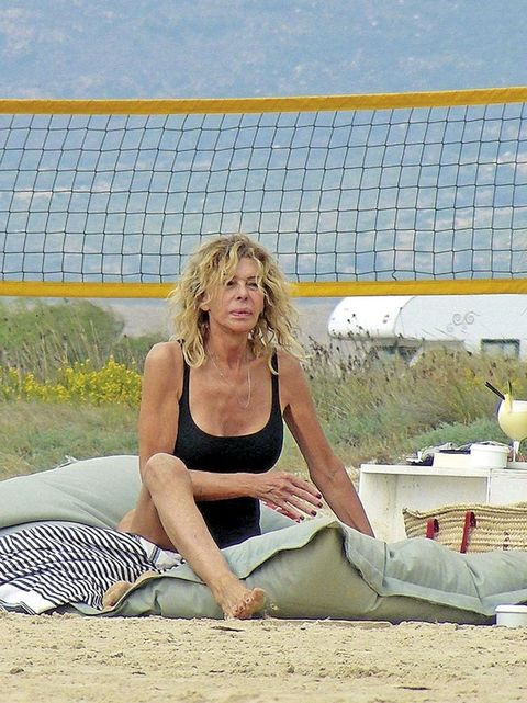 Bibiana Fernández en bañador