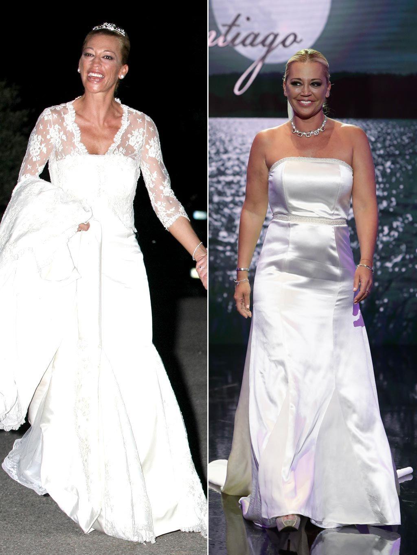Vestido de novia de belen esteban