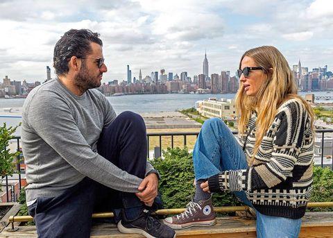 Emiliano Suárez y Carola Baleztena