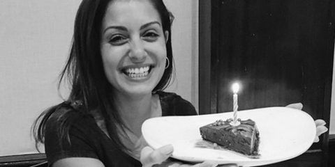 Food, Cake, Birthday, Birthday cake, Cuisine, Smile, Party, Black-and-white, Dessert, Torte,