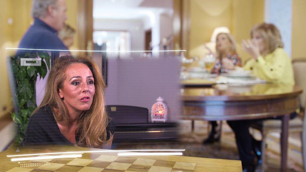 Rocío Carrasco, muy unida a las Campos,
