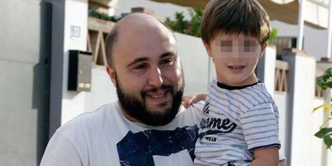 Kiko Rivera y su hijo