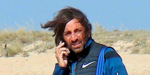 Human, Happy, Facial hair, Smile, Gesture, Surfer hair, Beard, Landscape, Travel,