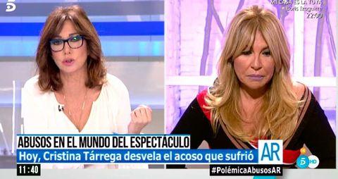 Cristina Tárrega en 'El programa de Ana Rosa'