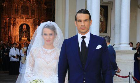 Wedding dress, Marriage, Bride, Veil, Ceremony, Event, Tradition, Dress, Wedding, Bridal clothing,