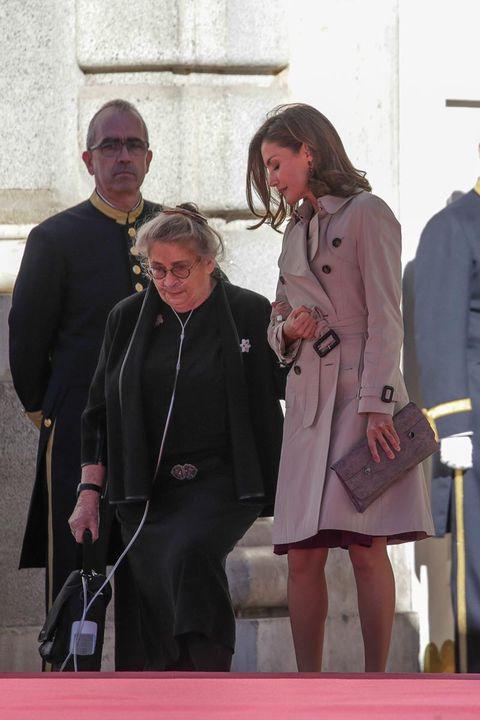 La Reina Letizia, muy cariñosa con la mujer del primer ministro de Israel