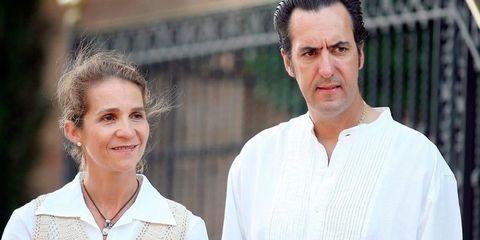 Infanta Elena y Jaime de Marichalar