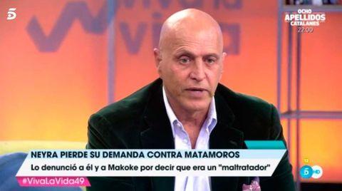 Kiko Matamoros en 'Viva la vida'