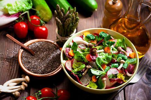 Dish, Food, Cuisine, Ingredient, Salad, Produce, Vegetable, Vegetarian food, Meal, Recipe,