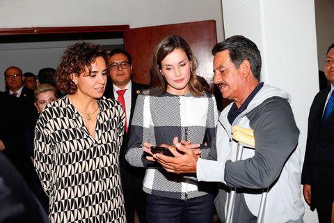 La Reina Letizia visita México