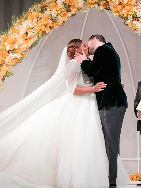 Boda de Serena Williams y Alexis Ohanian