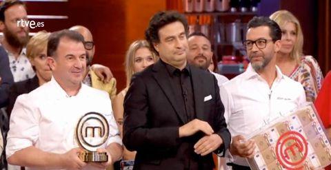 Saúl Craviotto gana MasterChef Celebrity 2