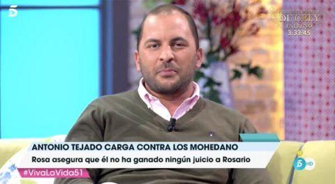 Antonio Tejado en 'Viva la vida'