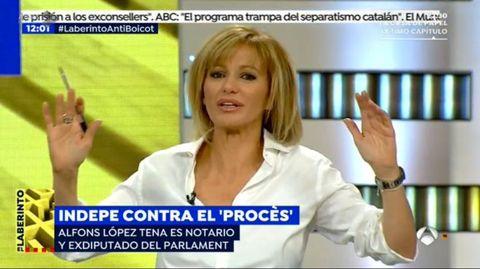 Susanna Griso vuelve al trabajo