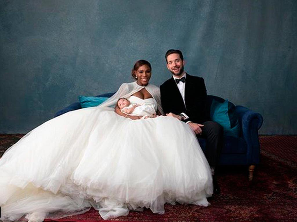 Boda de Serena Williams y Alexis Ohanian
