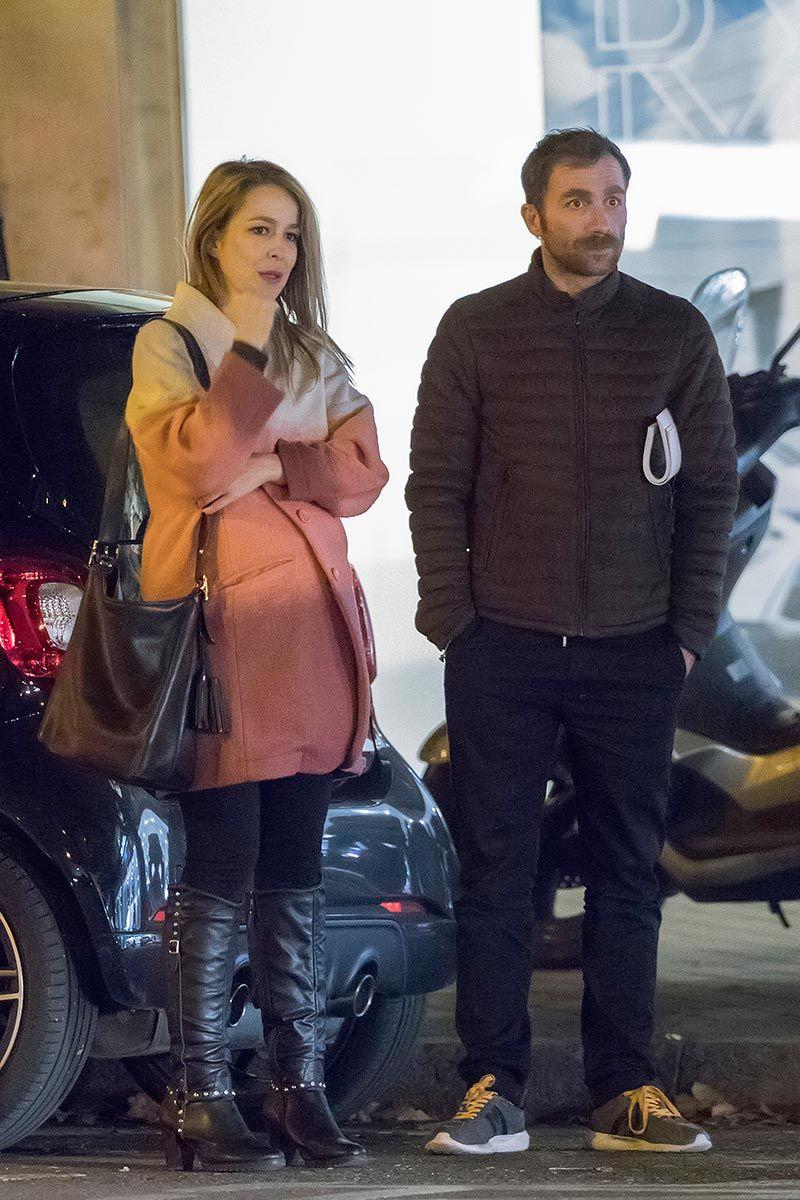 Silvia Abascal con su pareja, el actor Xabier Murua