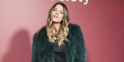 Laura Matamoros en la presentación de la campaña 'The Furla Society' de la firma Furla