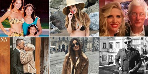 Hair, Hairstyle, Hat, Fashion, Blond, Headgear, Lip, Fashion accessory, Collage, Street fashion,