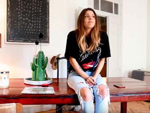 Laura Matamoros en su primer vídeo para su canal de YouTube