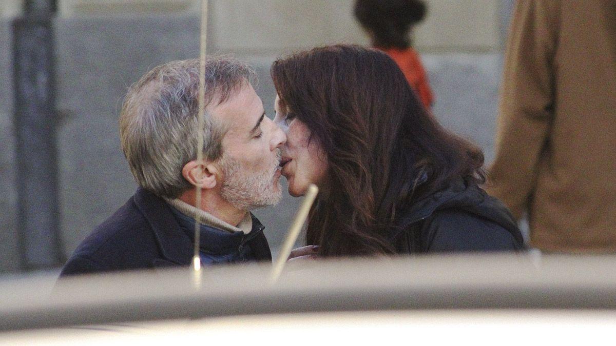 Fernando Guillén Cuervo y su novia novia