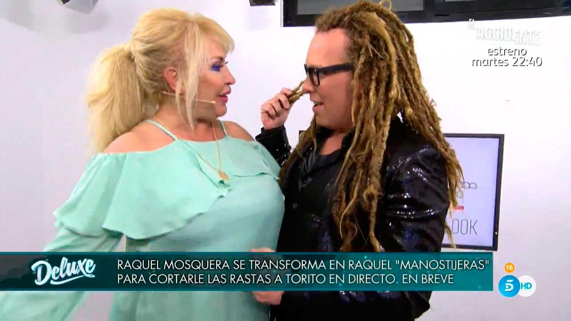 Raquel Mosquera y Torito en 'Deluxe'