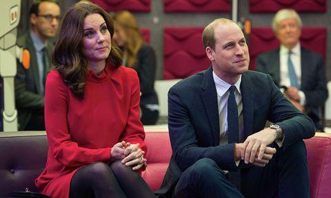 Los duques de Cambridge visitan la BBC