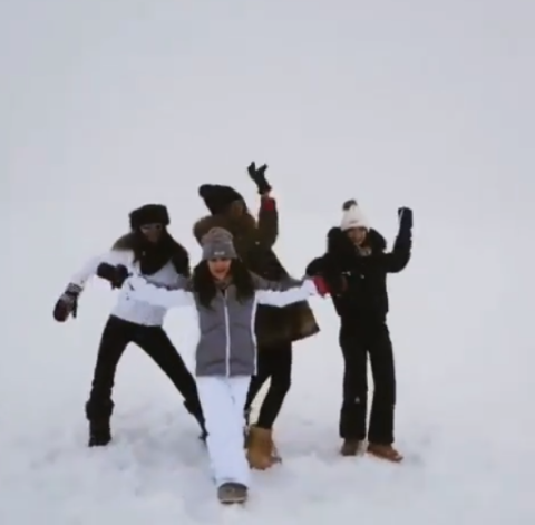 Snow, Fun, Playing in the snow, Winter, Footwear, Recreation, Freezing, Ice,