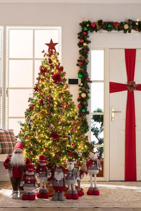 Ideas para decorar tu casa por navidad for Ideas para adornar puertas en navidad