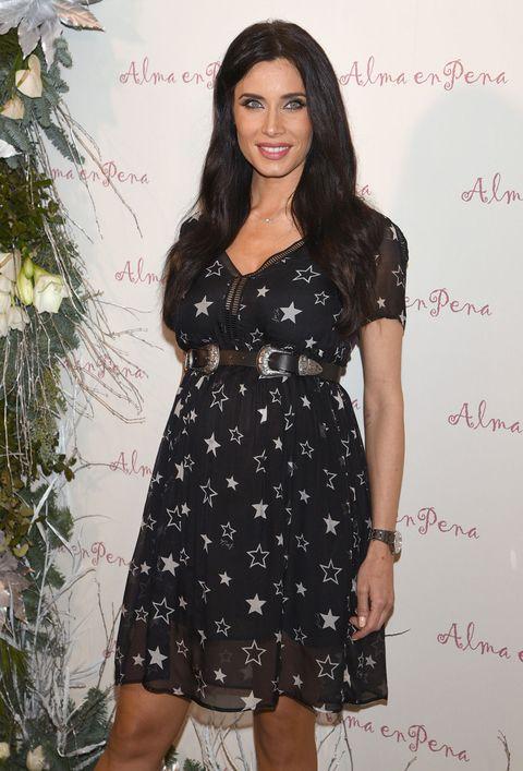 Pilar Rubio en la fiesta de la firma de moda 'Alma en pena'