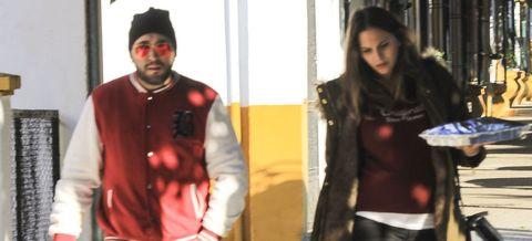 Jacket, Fashion, Outerwear, Leather jacket, Textile, Fun, Leather, Top, T-shirt, Black hair,