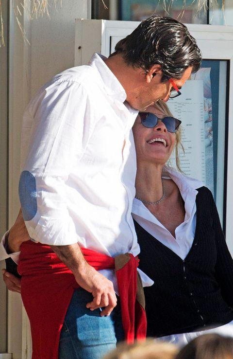 Belén Rueda con su novio en Marbella