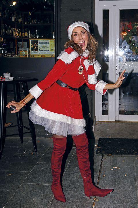 Paz Padilla celebra la Navidad