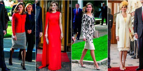 Los looks más comentados de la Reina Letizia en 2017