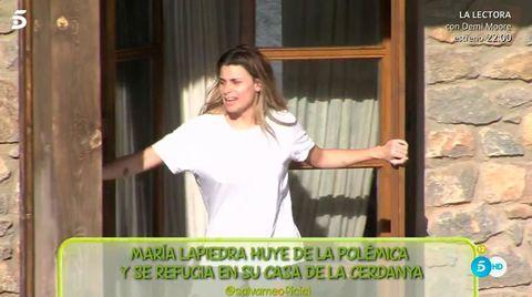 María Lapiedra en Bellver de Cerdaña