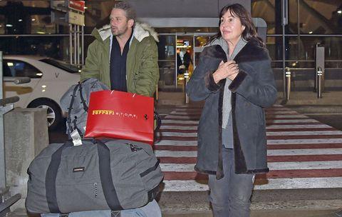 Carmen Martínez Bordiú con su novio Timothy