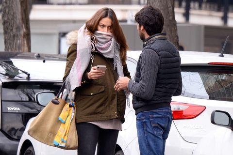 Street fashion, Fashion, Snapshot, Vehicle, Car, Interaction, Footwear, Shopping, Jeans, Photography,