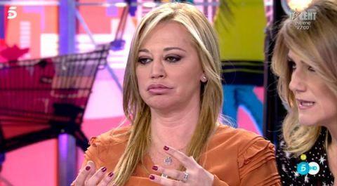 Belén Esteban regresa a 'Sálvame' tras las Navidades de 2017