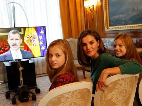 El rey Felipe, fotos en familia