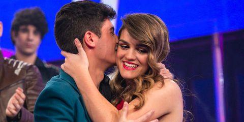 Alfred García y Amaia Romero en la final de 'OT'
