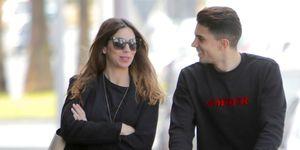 La pareja y su hija Gala disfrutan de la ciudad andaluza tras el fichaje del futbolista por el Betis