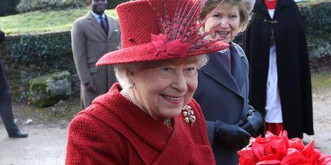 Hat, Red, Fashion accessory, Headgear, Sun hat, Tradition, Costume hat, Smile, Fedora,
