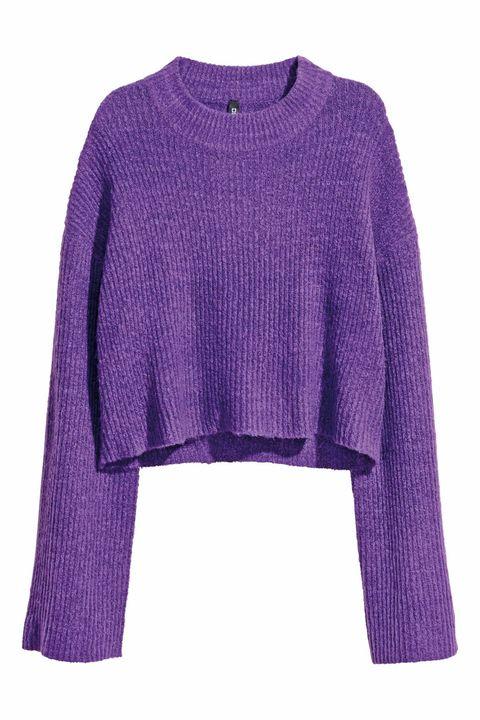 Clothing, Violet, Purple, Sleeve, Magenta, Lilac, Outerwear, Pink, Lavender, Woolen,