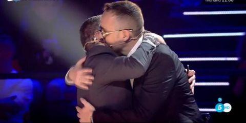 Los miembros del jurado del concurso musical de Telecinco se reconciliaron durante su última emisión.