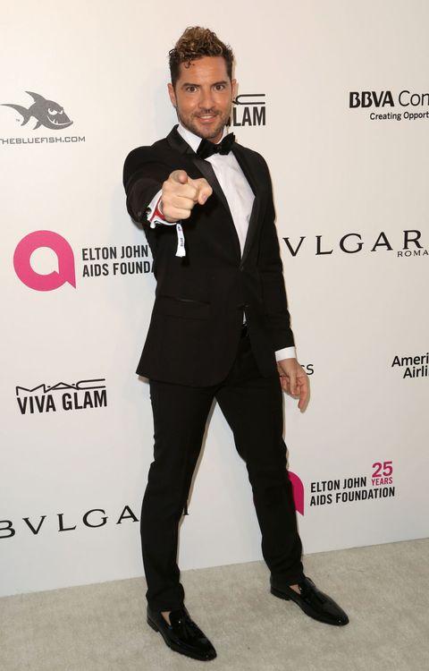David Bisbal en la fiesta de Elton John tras los Oscar 2018