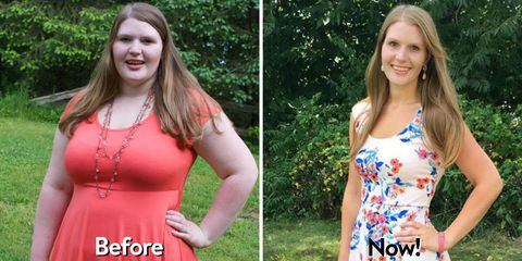 How Rebecca Grafton of My Girlish Whims Inspired Herself to Lose 100 Pounds