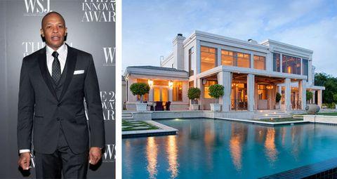 Dr. Dre's Hollywood Hills Mansion Just Sold For Over $30 Million